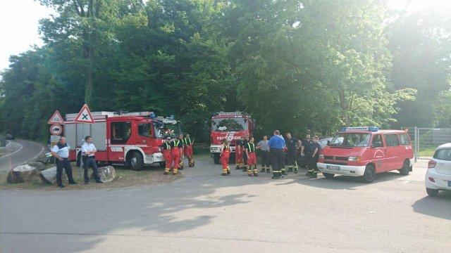 Brandsicherheitswache vom 21.06.2017     (C) Feuerwehr Muehlhausen (2017)